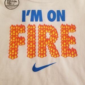 Nike BOYS I'm On Fire Tee